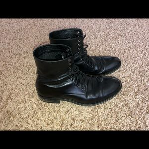 Joe's Jeans Men's 10.5 Leather Ankle Combat Boot